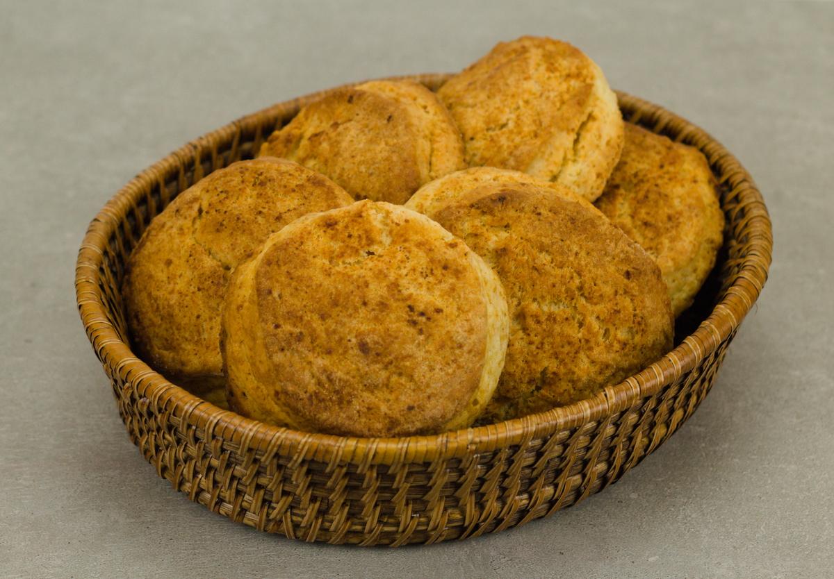 Buttermilch-Brötchen nach einem Rezept aus den USA