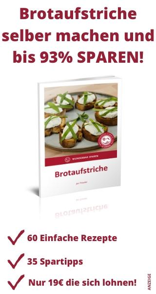 eBook Brotaufstriche Wunderbar Sparen